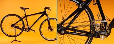 Una nueva bicicleta que funciona sin cadena