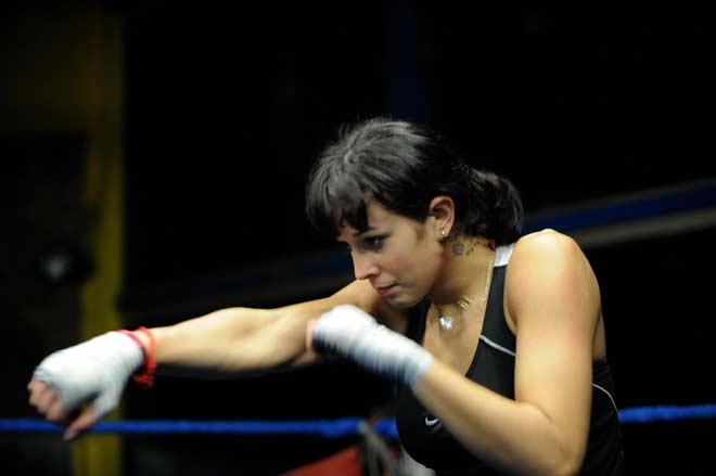 La boxeadora uruguaya