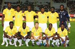 La selección de Togo en un partido amistoso. Foto: Getty Images