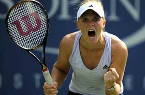 Melanie Oudin. Getty Images