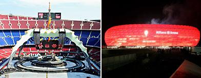 Los estadios más impactantes del mundo