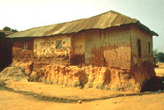 Asante Traditional Buildings, Kumasi