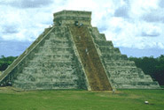 Pre-Hispanic City of Chichen-Itza, RíO Lagartos