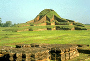 Ruins of the Buddhist Vihara at Paharpur, Rajshahi