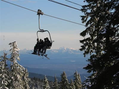Grouse Mountain, North Vancouver District
