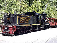 Yosemite Sugar Pine Railroad, Fish Camp