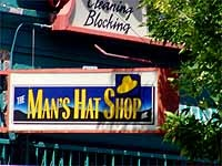 Man's Hat Shop, Albuquerque