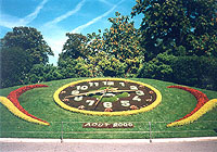 Flower Clock , Geneva