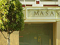 Masa's, San Francisco