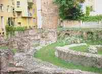 Archeology site of via Brisa, Milan