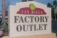San Diego Factory Outlet Center, San Diego