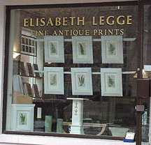 Elisabeth Legge Antique Prints, Toronto