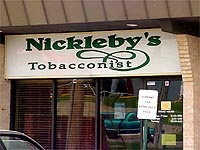 Nickleby's Tobacconist, Omaha