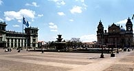 Plaza Mayor de la Constitución, Guatemala City