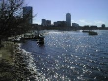 Charles River Esplanade, Boston
