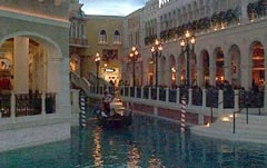 Gondola Rides at the Venetian, Las Vegas
