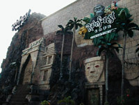 Rainforest Cafe, Cancun