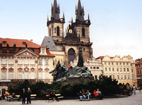 Church of Our Lady before Týn , Prague