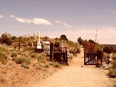 Silver Terrace Cemetery, Virginia City