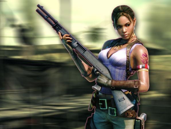 Sheva Resident Evil 5 Hot