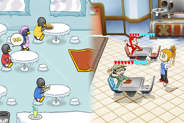 Diner Dash - Free Downloadable Games and Free Time Management Games from