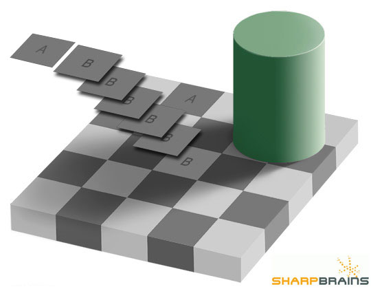 Checker Puzzle Solution