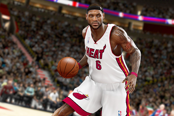 lebron james heat wallpaper. Lebron James Heat: LeBron