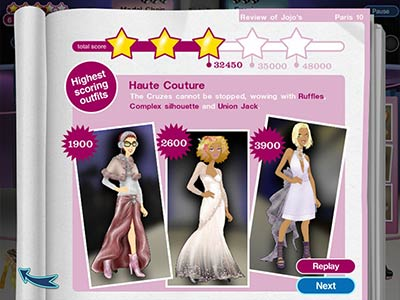 Runway Fashion Show Games on Jojos Fashion Show  Download  And Read User Reviews On Yahoo  Games