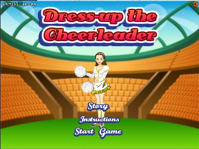 Cheerleader dress up
