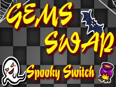 Gems Swap Spooky Switch