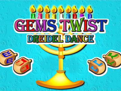 Gems Twist: Dreidel Dance