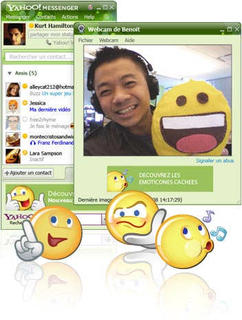 [Yahoo! Messenger pour Windows]