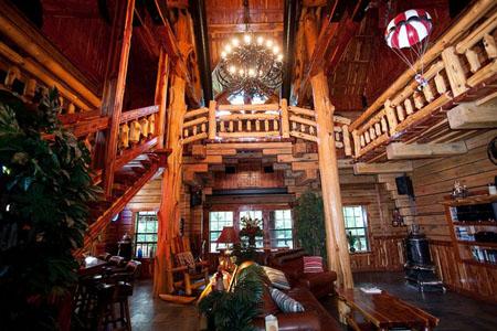 ChachaWorld 4 Million Log Cabin