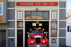 Old Firehouse - 117 Broad St, San Francisco, CA