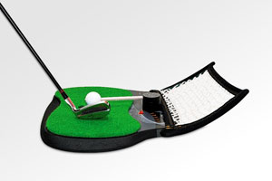 The halftime break provides just enough time to improve a golf swing. Electric-Spin