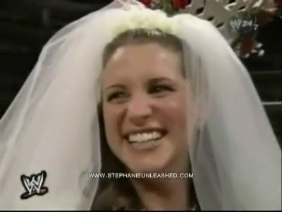 1999 - Steph & Test Wed until HHH says he married Steph