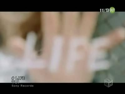 YUI 「LIFE」 無料PV 動画視聴