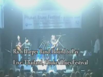 Rich Harper Band - Bound To Pay