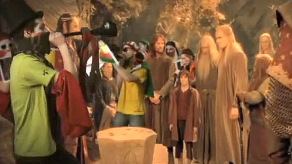 Gandalf Goes to the World Cup @ Yahoo! Video