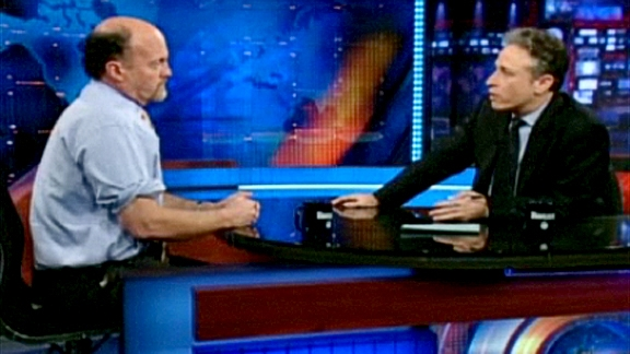 Jon Stewart Tears Into Jim Cramer @ Yahoo! Video