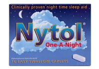 Nytol sleeping pills