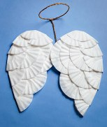 DIY Angel Wings For Halloween