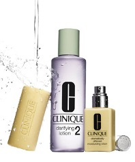 clinique 3 step system how to use