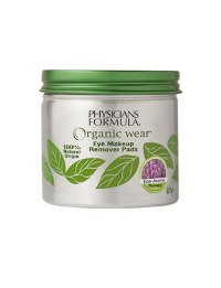 Physicians Formula Organic Wear Eye Makeup Remover Pads