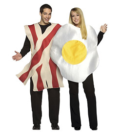 Costume: Bacon and Eggs