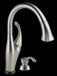 One-Touch Kitchen Faucet