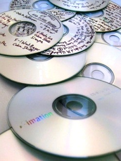 Recordable CDs and DVDs