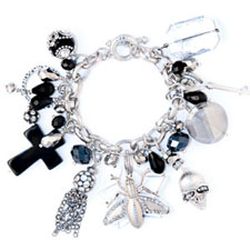 Love and War Charm Bracelet