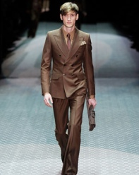 Gucci Brown Suit