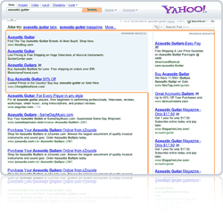 Advertise your website with Yahoo! Search Marketing